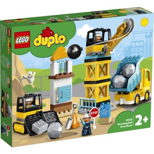 LEGO DUPLO Wrecking Ball Demolition Construction Set