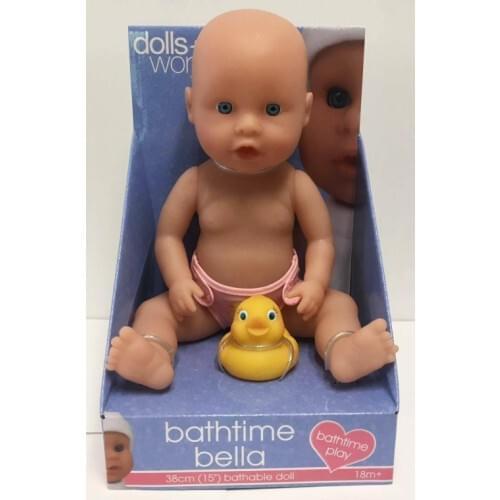 Dolls World Bathtime Bella