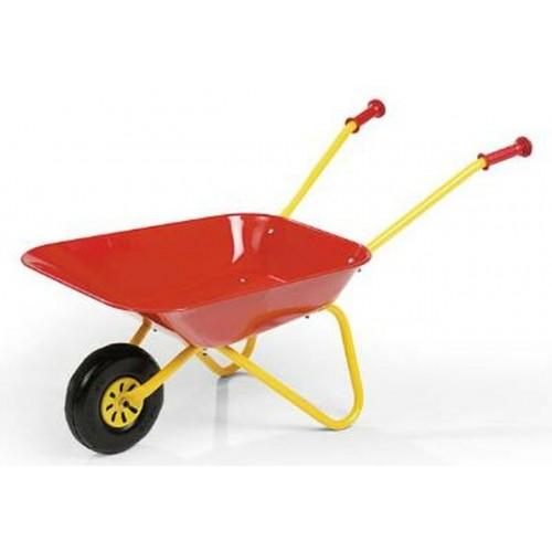 Red Metal Wheelbarrow  ROLLY