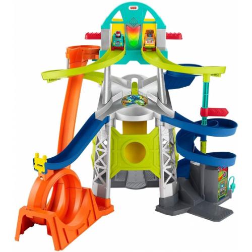 Fisher Price - Little People Wheelies Playset