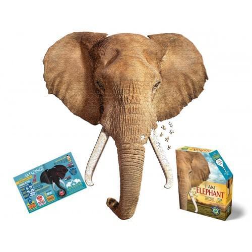 I AM ELEPHANT JIGSAW PUZZLE