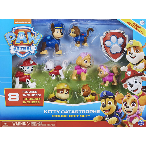 PAW Patrol - Kitty Catastrophe Gift Set with 8 Collectible Figures