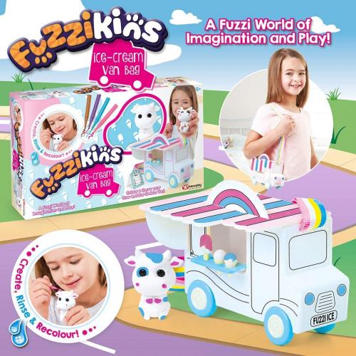 Fuzzikins Ice Cream Van Bag Multi