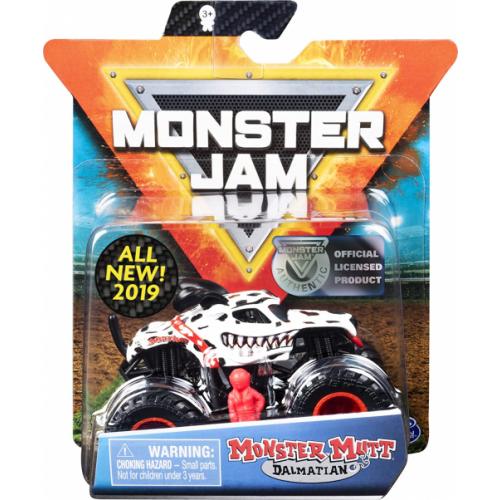 Monster Jam - Official Monster Truck, Die-Cast Vehicle, Ruff Crowd Series