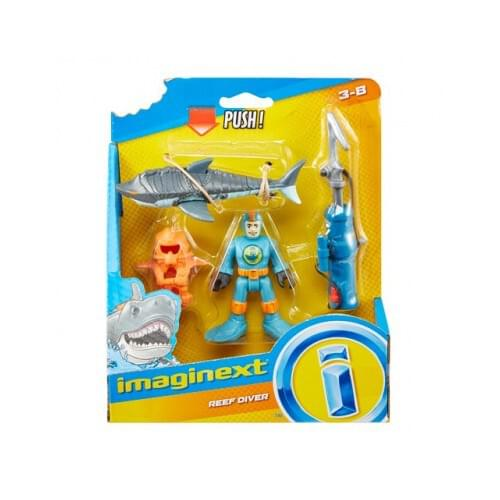 Imaginext Sharks Basic Figures Assorted