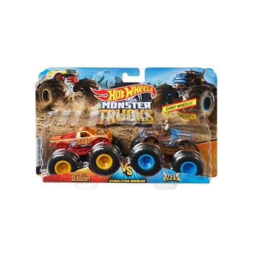 Hot Wheels Hot Wheels Monster Trucks 1 64 Scale Demolition Doubles trucks Assortment