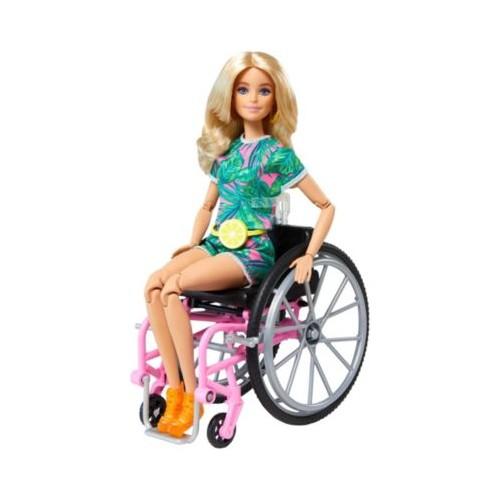 Barbie Wheelchair Doll Blonde