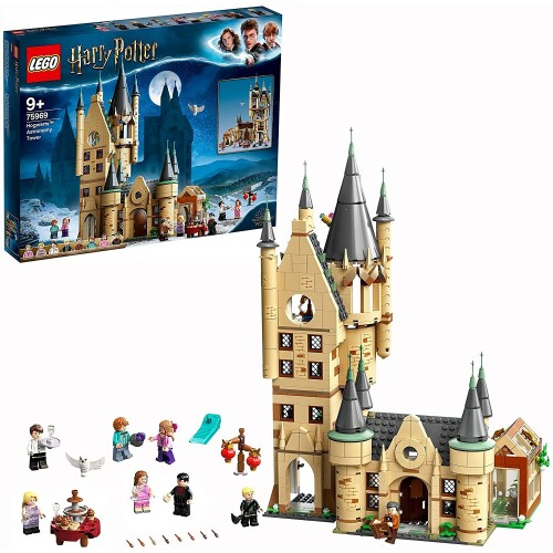 Lego 75969 Harry Potter Hogwarts Castle Astronomy Tower Toy Compatible with Great Hall and Whomping Willow Sets