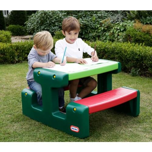 LITTLE TIKES Junior Picnic Table (Evergreen)