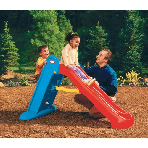 LITTLE TIKES Easy Store Large Play Slide primary colour