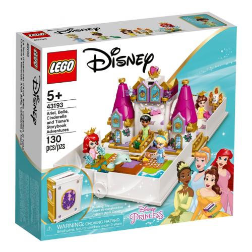 Ariel, Belle, Cinderella and Tiana's Storybook Adventures LEGO