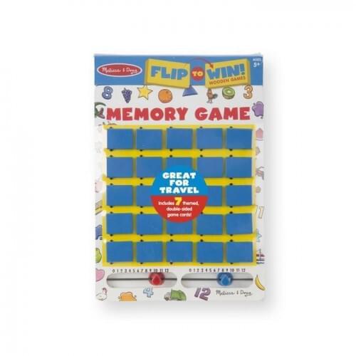 Flip-to-Win Memory Game Item