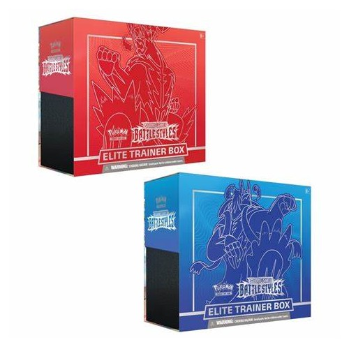 ELITE TRAINER BOX  ELITE TRAINER BOX POKEMON RED BLUE