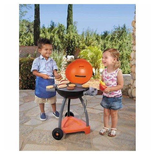 SIZZLE 'N SERVE GRILL LITTLE TIKES