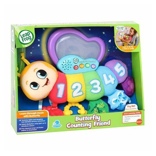 Counting and Colours Butterfly LEAPFROG