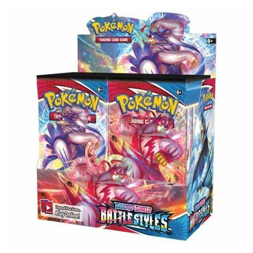 Pokémon Trading Card Game Sword and Shield Booster