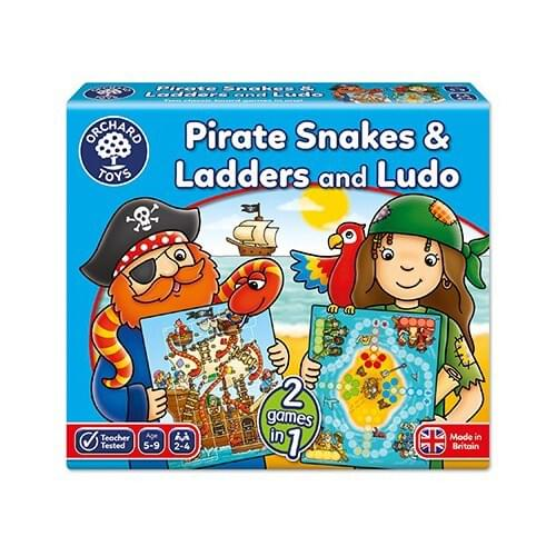 PIRATE SNAKES AND LADDERS, LUDO