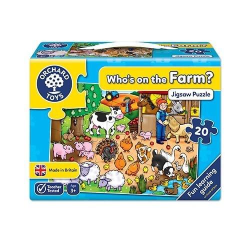 WHO'S ON THE FARM?