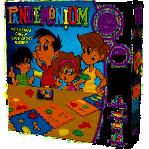 Happy Puzzle Company – Pandemonium Jigsaw Puzzle, whipmn, multi-coloured