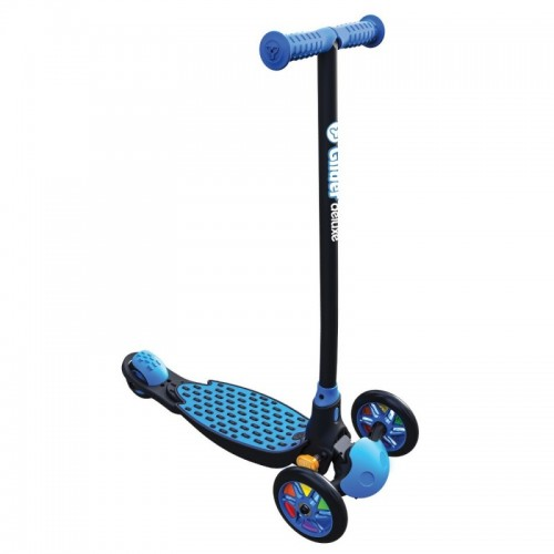 Yvolution Y Glider Deluxe Kids Scooter - Blue