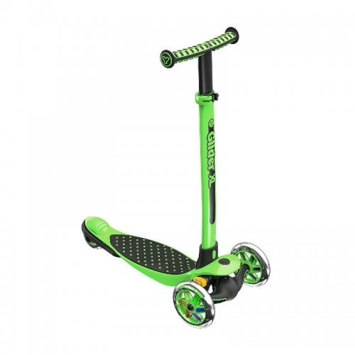 Yvolution Y Glider XL Kids Scooter - Green