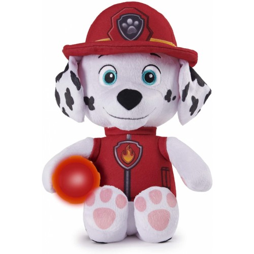 PAW PATROL Snuggle Up Marshall Plush with Torch and Sounds