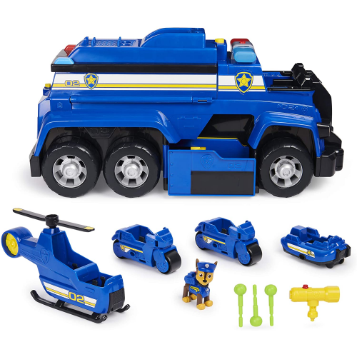PAW Patrol - Chases 5-in-1 Ultimate Police Cruiser with Lights and Sounds