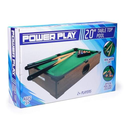 20 Inch Pool Table POWER PLAY