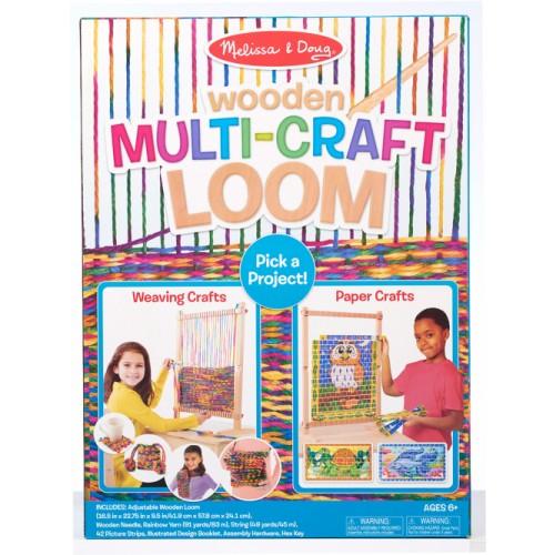 Multi-Craft Weaving Loom