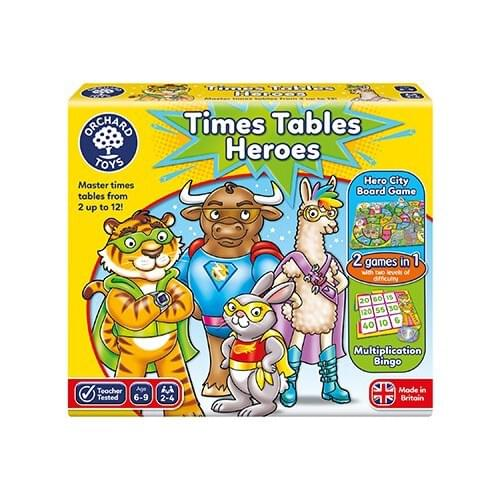 TIME TABLES HEROES