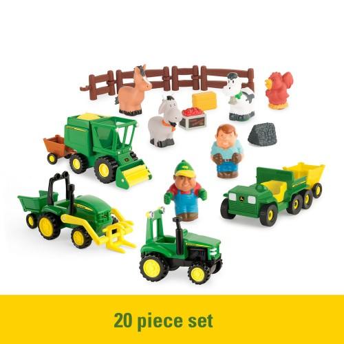 John Deere Preschool - 1st Farm Fun Playset Range - Suitable from 3 years