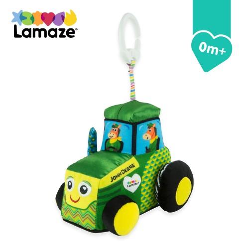 Lamaze John Deere Tractor Clip & Go Toy