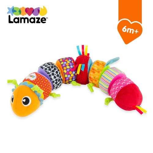 Lamaze Mix & Match Caterpillar Soft Cuddly Toy for Baby, Babies Activity Sorting Toy, Ideal Baby Shower Gift for New Parents, Suitable for Babies Boys and Girls from 6 Months+
