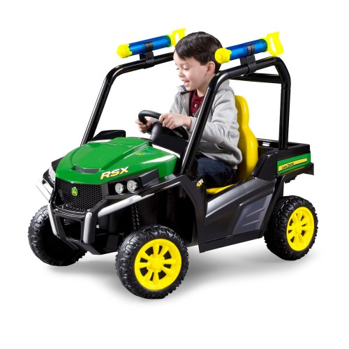 John Deere Electric Car Toy 6V Rechargeable Battery Ride On Gator Toddler
