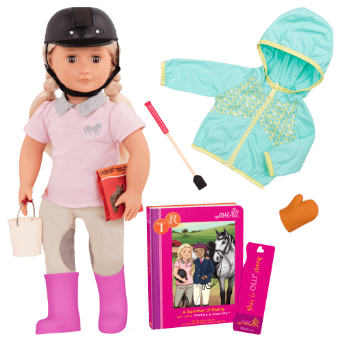 Tamera A Summer Of Riding Deluxe Our Generation Doll