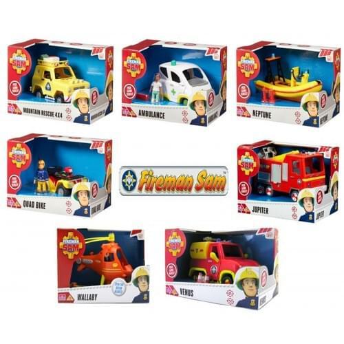 Fireman Sam Vehicle Assortment