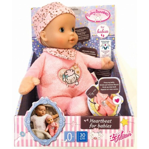 Baby Annabell Heartbeat For Babies