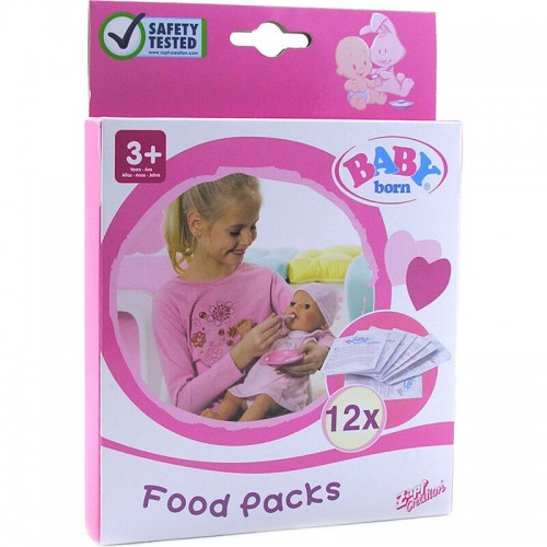 Baby Born Food, 12 Sachets