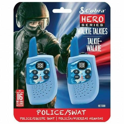 Cobra Hero Series Police/Swat Walkie Talkies Brand New (HM230 B) Up To 3km Range