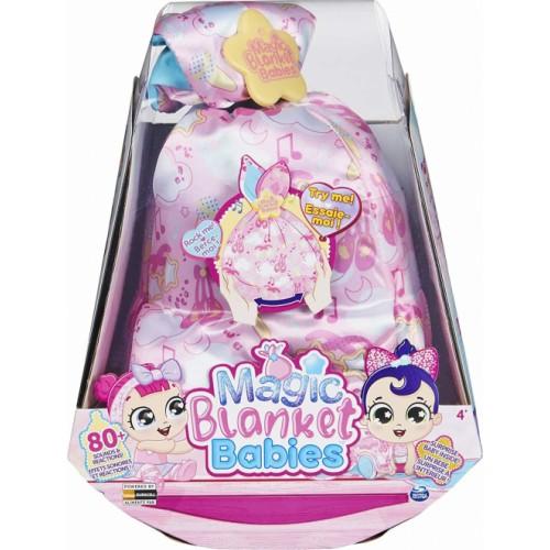 Magic Blanket Babies Surprise Pink Blanket