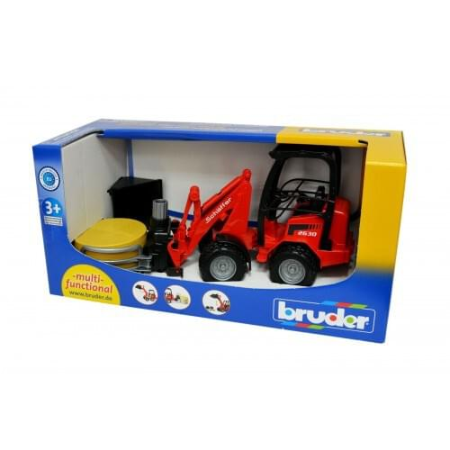 Compact Loader 2034 with Bale Grab