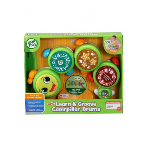 Learn & Groover Caterpillar Drums
