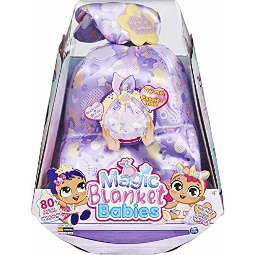 Magic Blanket Babies Surprise Purple Blanket