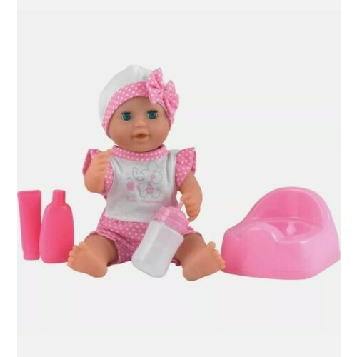 Dolls World - 25cm Baby Dribbles Drink and Wet Doll