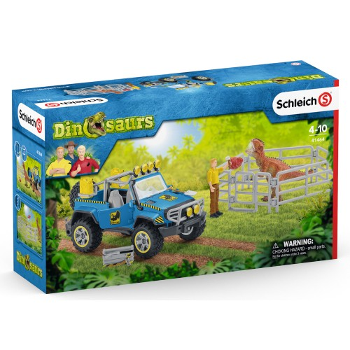 OFF-ROAD VEHICLE WITH DINO OUTPOST