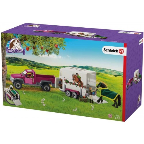 Schleich Horse Club Pick Up with Horse Box (42346)