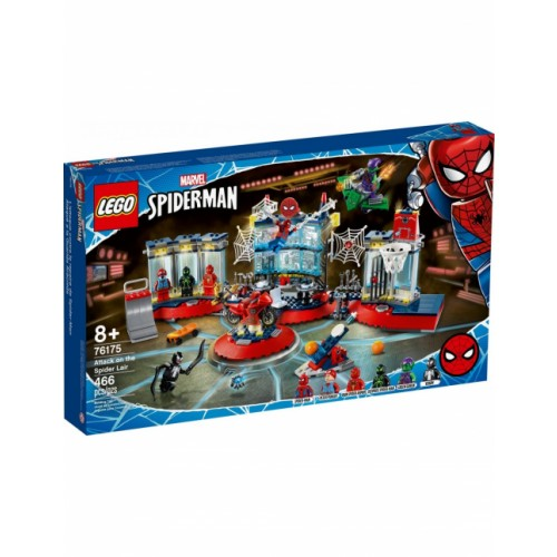 LEGO Spider-Man Attack On The Spider Lair 76175