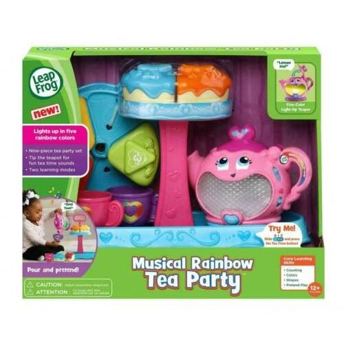 LeapFrog Musical Rainbow Tea Party Refresh