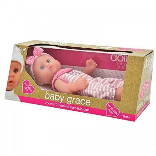 Dolls World - Baby Grace Doll