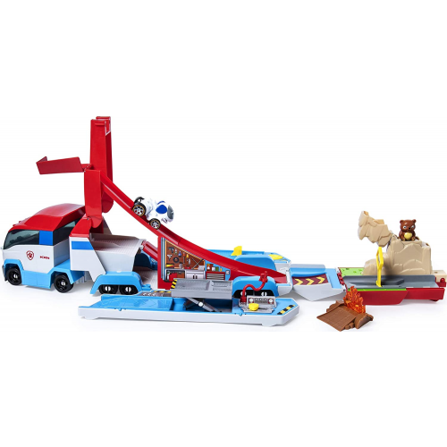 Paw Patrol LaunchN Haul PAW Patroller, Transforming 2-in-1 Track Set for True Metal Die-Cast Vehicles